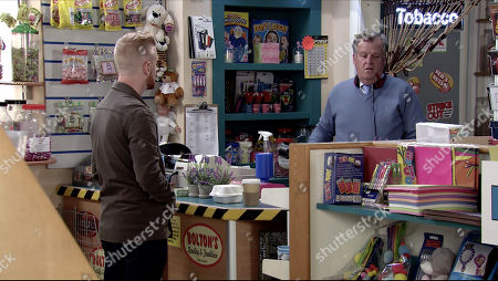 Coronation Street - Ep 10092 Friday 24th July 2020 Gary Windass, as played by Mikey North, is worried to discover that Brian Packham, as played by Peter Gunn, had read about Roman coins found in Beacon Woods and is planning to take his metal detector to see what he can find. Desperate not to have people digging anywhere in the woods Gary tired to persuade him not go.