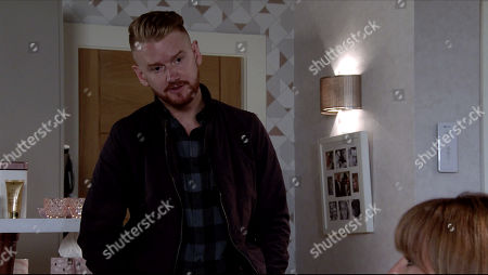 Coronation Street - Ep 10098 Friday 7th August 2020 Maria Connor, as played by Samia Longchambon, confronts Gary Windass, as played by Mikey North, and wonders if he's still in love with Sarah.