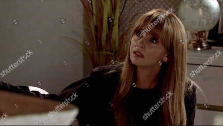 Coronation Street - Ep 10098 Friday 7th August 2020 Maria Connor, as played by Samia Longchambon, confronts Gary Windass and wonders if he's still in love with Sarah.