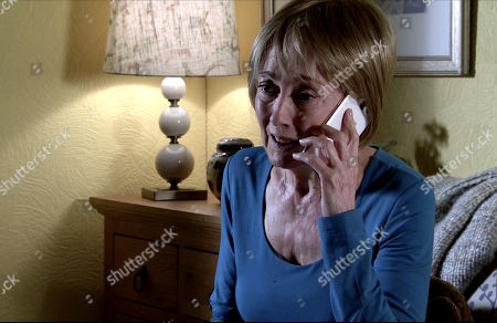 Coronation Street - Ep 10094 Wednesday 29th July 2020 Elaine Jones, as played by Paula Wilcox, calls Alya and confirms that she's prepared to give evidence against Geoff and do everything she can to help Yasmeen. Alya's overcome with gratitude.