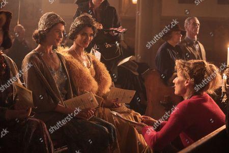 Gemma Arterton as Alice, Gugu Mbatha-Raw and Jessica Swale Director