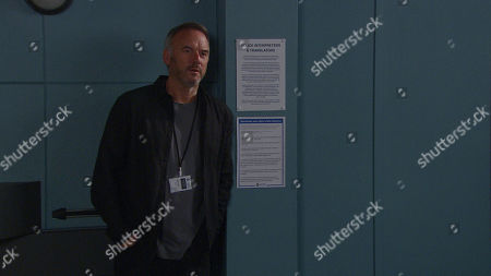 Emmerdale - Ep 8816 Monday 3rd August 2020 At the Police Station, Malone, as played by Mark Womack, defends himself and further slanders Will, speculating that the real reason Harriet Finch came to visit was because she can't keep away from him. Harriet is stopped in her tracks when Malone reveals the extent of his feelings for her.