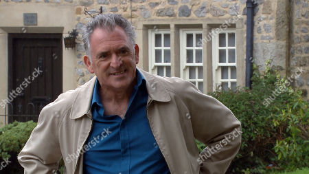 Emmerdale - Ep 8815 Friday 31st July 2020 Dan Spencer asks Bob Hope, as played by Tony Audenshaw, about the compensation money and is soon left hopeful.