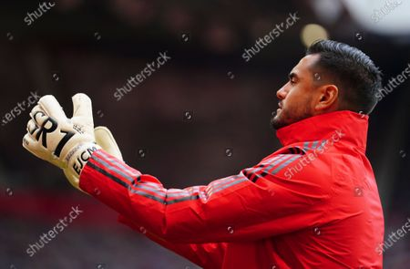 Goalkeeper Sergio Romero of Manchester United