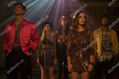 Emilio Sakraya as JC, Charlotte Vega as Zori, May Simon Lifschitz as Chanel, Alba Baptista as Ava and Dimitri Abold as Randall