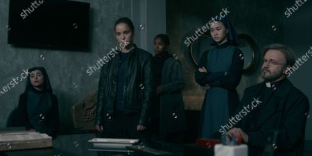 Olivia Delcan as Sister Camila, Alba Baptista as Ava, Toya Turner as Shotgun Mary, Kristina Tonteri-Young as Sister Beatrice and Tristan Ulloa as Father Vincent