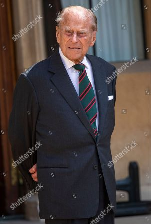 Editorial photo of Transfer of the Colonel-in-Chief of the Rifles, Windsor Castle, UK - 22 Jul 2020