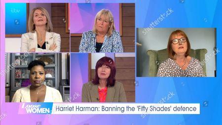Harriet Harman, Kaye Adams, Linda Robson, Brenda Edwards, Janet Street-Porter