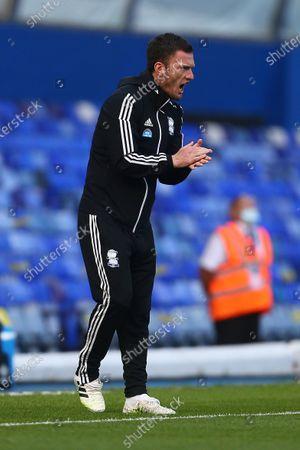 Birmingham first team coach Craig Gardner
