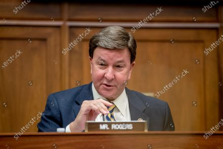 Ranking Member Rep. Mike Rogers, R-Ala., speaks as Federal Emergency Management Agency Administrator Peter Gaynor appears before a House Committee on Homeland Security meeting on Capitol Hill in Washington, on the national response to the coronavirus pandemic