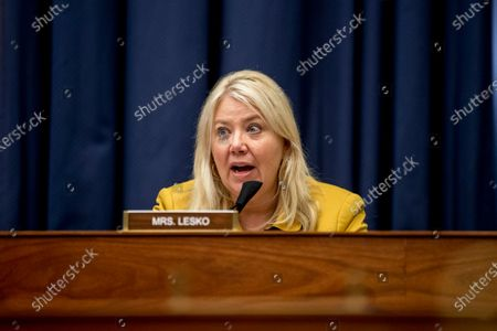 Rep. Debbie Lesko, R-Ariz., speaks as Federal Emergency Management Agency Administrator Peter Gaynor testifies before a House Committee on Homeland Security meeting on Capitol Hill in Washington, on the national response to the coronavirus pandemic