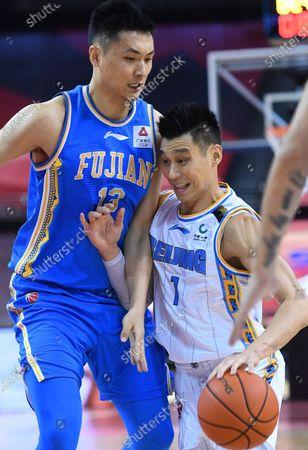 Editorial picture of China Qingdao Basketball Cba League Beijing Ducks vs Fujian Sturgeons - 22 Jul 2020