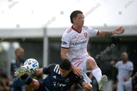 Editorial picture of MLS Sporting KC Real Salt Lake Soccer, Kissimmee, United States - 22 Jul 2020