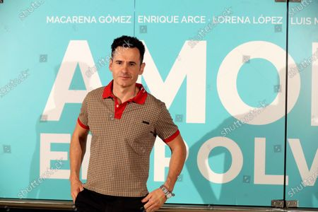 Luis Miguel Segui poses for the photographer during the presentation of the film 'Amor en Polvo' (Powdered Love) in Madrid, Spain, 22 July 2020. The movie, shot in 17 days, will open in Spanish cinemas on 24 July 2020.