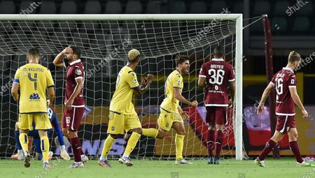 Editorial photo of Torino-Hellas Verona, Turin, Italy - 22 Jul 2020