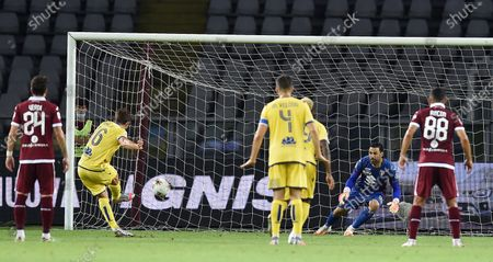 Editorial image of Torino-Hellas Verona, Turin, Italy - 22 Jul 2020