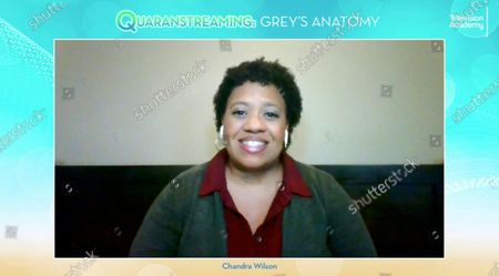 """Grey's Anatomy"""" actress Chandra Wilson took part in the Television Academy's streaming member event, """"Quaranstreaming: Comfort TV That Keeps Us Going,"""", which is now available for public viewing at emmys.com"""