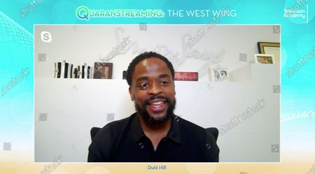 "Stock Image of The West Wing"" actor Dule Hill took part in the Television Academy's streaming member event, ""Quaranstreaming: Comfort TV That Keeps Us Going,"", which is now available for public viewing at emmys.com"