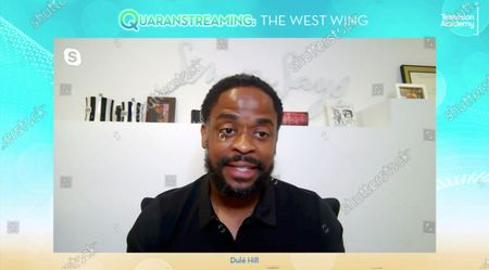 "Stock Picture of The West Wing"" actor Dule Hill took part in the Television Academy's streaming member event, ""Quaranstreaming: Comfort TV That Keeps Us Going,"", which is now available for public viewing at emmys.com"