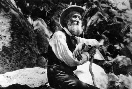 This 1907 photo provided by the U.S. National Park Service shows naturalist John Muir in Yosemite National Park, Calif. The Sierra Club is reckoning with the racist views of founder John Muir, the naturalist who helped spawn environmentalism. The San Francisco-based environmental group said, that Muir was part of the group's history perpetuating white supremacy. Executive Director Michael Brune says Muir made racist remarks about Black people and Native Americans, though his views later evolved