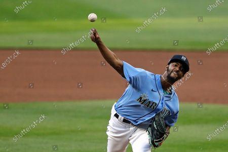 Editorial image of Mariners Baseball, Seattle, United States - 22 Jul 2020