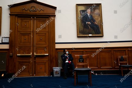 United States Representative Al Green (Democrat of Texas) listens during a hearing with Peter T. Gaynor, Administrator of Federal Emergency Management Agency (FEMA) and the United States House Committee on Homeland Security on Capitol Hill in Washington DC.