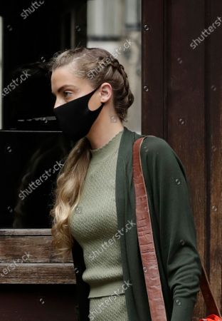 """Whitney Heard, the sister of American actress Amber Heard, arrives on the day she is due to give evidence at the High Court in London, . Actor Johnny Depp is suing News Group Newspapers, publisher of The Sun, and the paper's executive editor, Dan Wootton, over an April 2018 article that called him a """"wife-beater."""" Depp strongly denies all allegations"""
