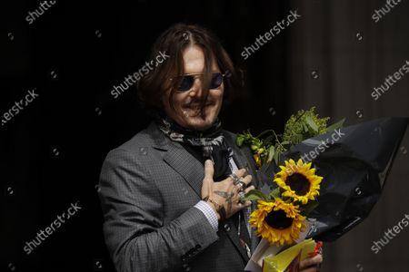 Editorial photo of Johnny Depp, London, United Kingdom - 23 Jul 2020