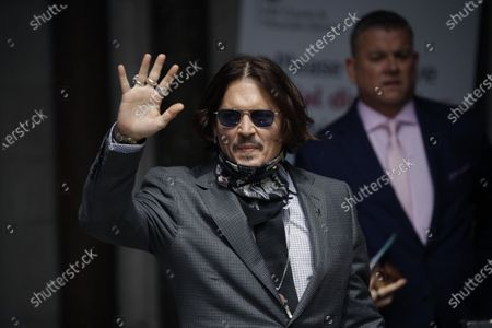 Editorial image of Johnny Depp, London, United Kingdom - 23 Jul 2020