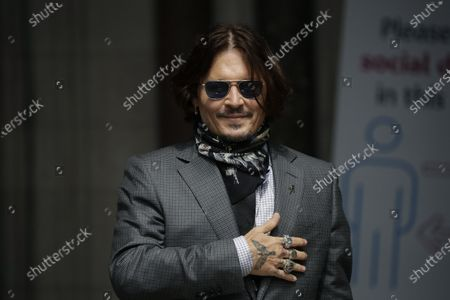 Editorial picture of Johnny Depp, London, United Kingdom - 23 Jul 2020