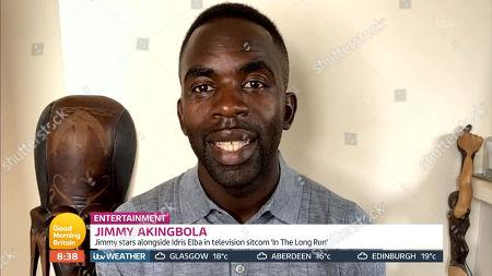 Stock Image of Jimmy Akingbola