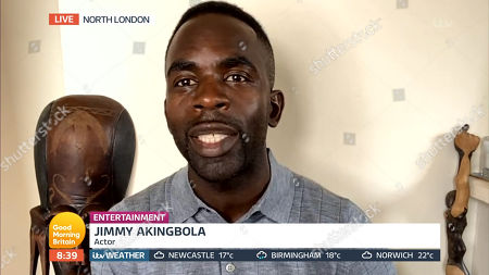 Stock Picture of Jimmy Akingbola