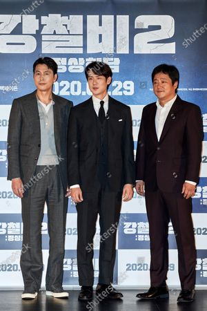 Jung Woo-sung, Yoo Yeon-seok, Kwak Do-won