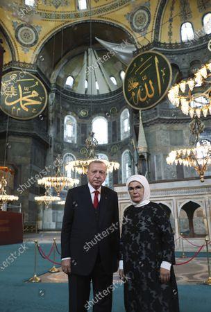 Editorial picture of Hagia Sophia, Istanbul, Turkey - 23 Jul 2020