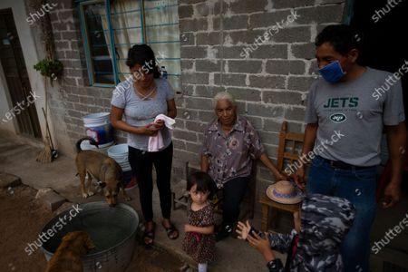 Editorial picture of Virus Outbreak - Sending Money Home, San Jeronimo Xayacatlan, Mexico - 24 Jun 2020