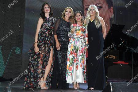 Stock Photo of Ilenia Pastorelli, Claudia Gerini, Michela Andreozzi, Tiziana Rocca