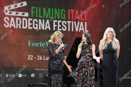 Tiziana Rocca, Claudia Gerini, Ilenia Pastorelli