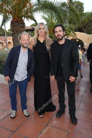 Tiziana Rocca with Matt Dillon and Toby Jones