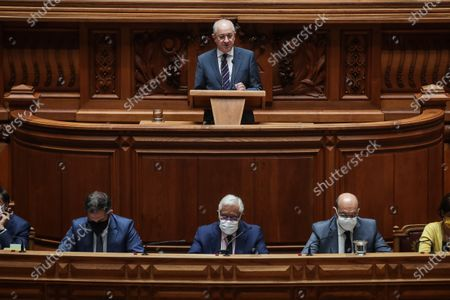 Editorial image of State of Nation debate in Parliament, Lisbon, Portugal - 24 Jul 2020