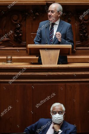 Editorial picture of State of Nation debate in Parliament, Lisbon, Portugal - 24 Jul 2020