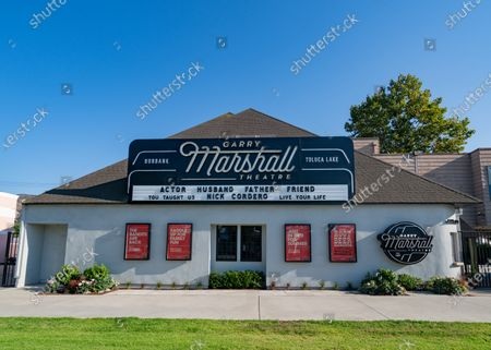 Editorial image of General views of the Garry Marshall Theatre, Los Angeles, USA - 23 Jul 2020