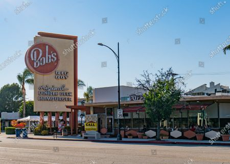 General views of Bob's Big Boy restaurant