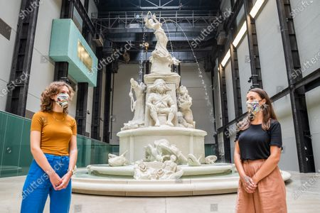 Editorial picture of The Tate Modern re-opens. Entry is by timed slot following the easing of the Coronavirus Lockdown., Tate Modern, London, UK - 24 Jul 2020