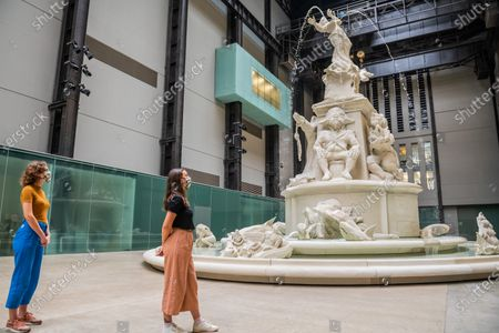 Hyundai Commission: KaraWalker: Fons Americanus, 2019 - The Tate Modern re-opens on Monday. Visitors are asked to follow guidance on social distancing etc, in line with advice from government following the easing of the lockdown.