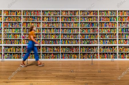 Yinka Shonibare CBE, The British Library,2014 - The Tate Modern re-opens on Monday. Visitors are asked to follow guidance on social distancing etc, in line with advice from government following the easing of the lockdown.
