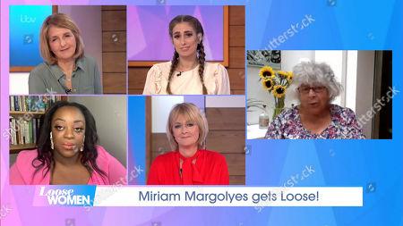 Jane Moore, Judi Love, Stacey Dooley, Kaye Adams, Miriam Margolyes