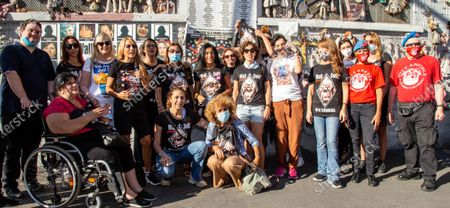 Editorial image of Wall of Dolls, Milano (MI), Italy - 23 Jul 2020