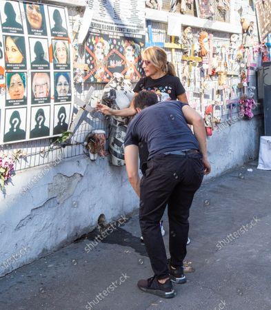 Editorial photo of Wall of Dolls, Milano (MI), Italy - 23 Jul 2020