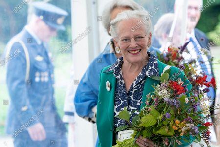 Editorial photo of Queen Margrethe opens royal kitchen garden at Graasten Castle, Denmark - 24 Jul 2020