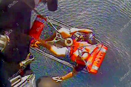 Editorial image of Fisherman Rescued Florida, St. Petersburg, United States - 23 Jul 2020